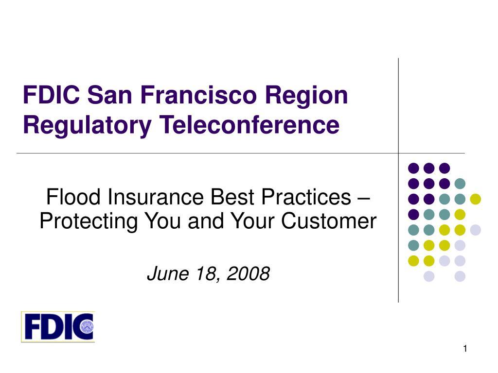 FDIC San Francisco Region
