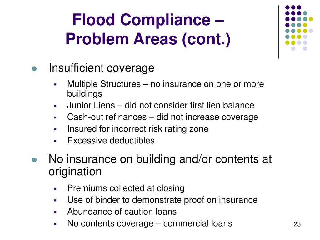 Flood Compliance –