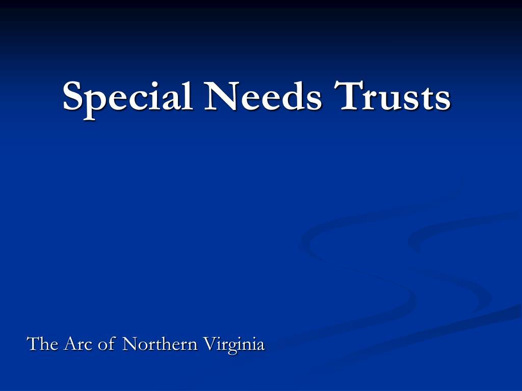 special needs trusts l.