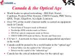 canada the optical age