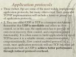 application protocols19