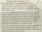 application protocols20