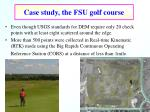 case study the fsu golf course10