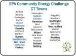 epa community energy challenge ct towns