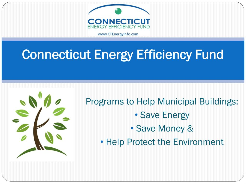 programs to help municipal buildings save energy save money help protect the environment l.