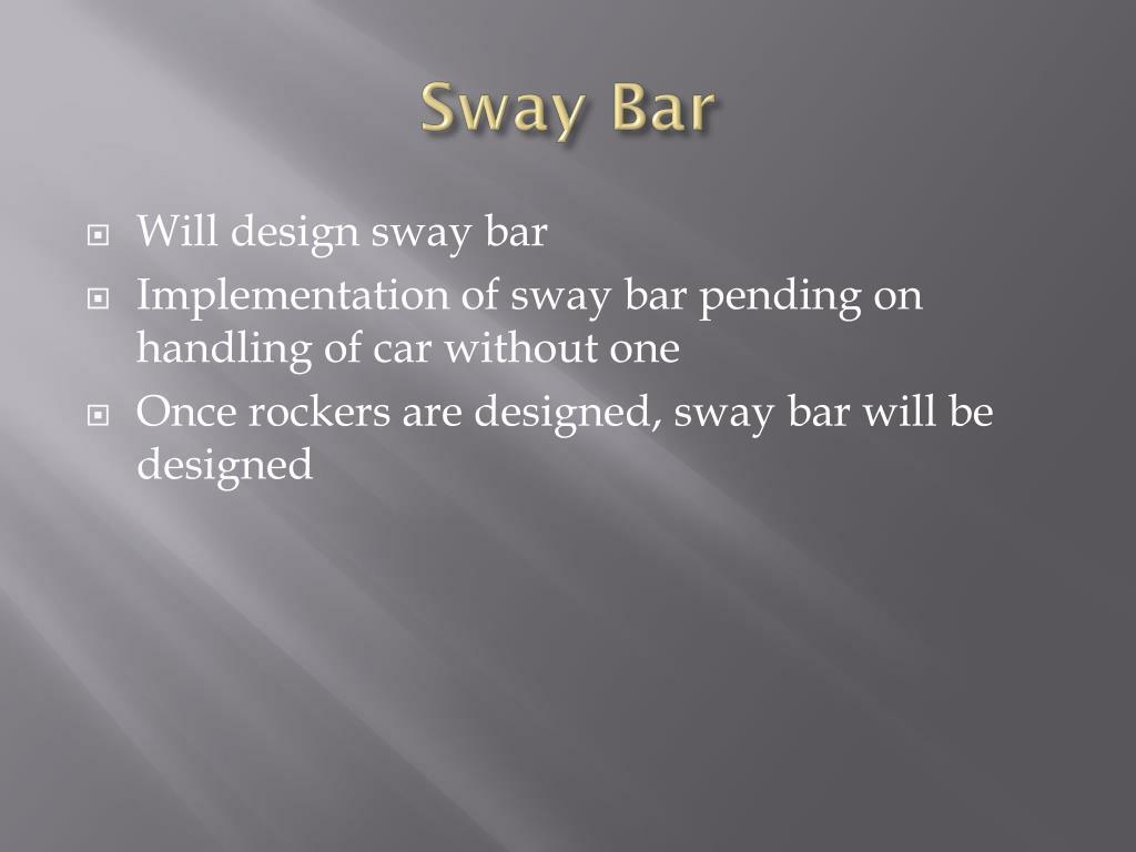 Sway Bar