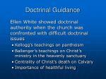 doctrinal guidance33