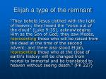 elijah a type of the remnant14