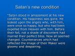 satan s new condition