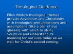 theological guidance35