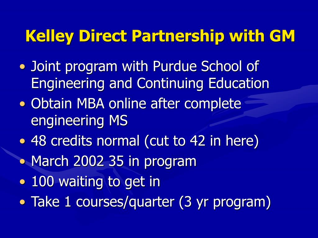 Kelley Direct Partnership with GM