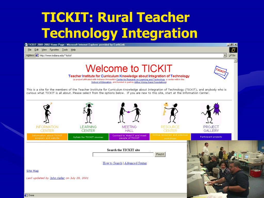 TICKIT: Rural Teacher
