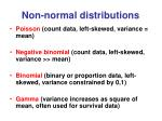non normal distributions