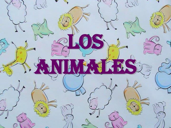los animales n.