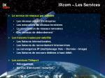 ixcom les services
