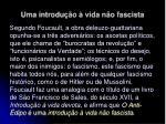 uma introdu o vida n o fascista25