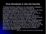 uma introdu o vida n o fascista26
