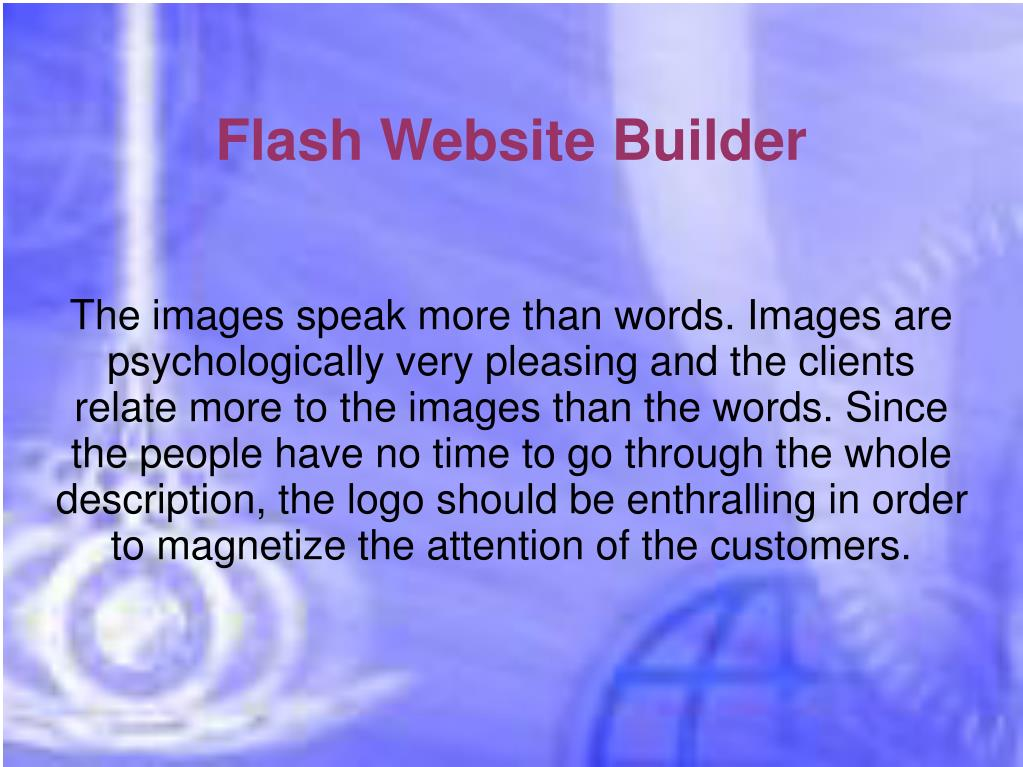Flash Website Builder