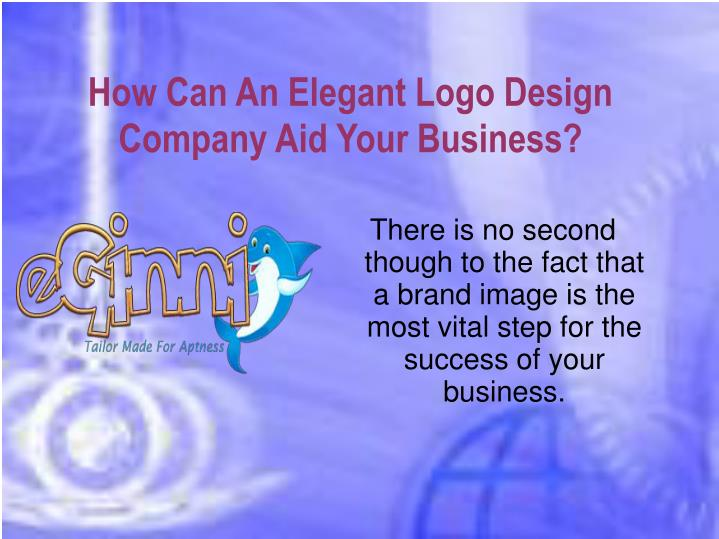 How can an elegant logo design company aid your business
