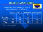 resultados hmisi325