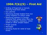 1904 7 b 5 first aid30