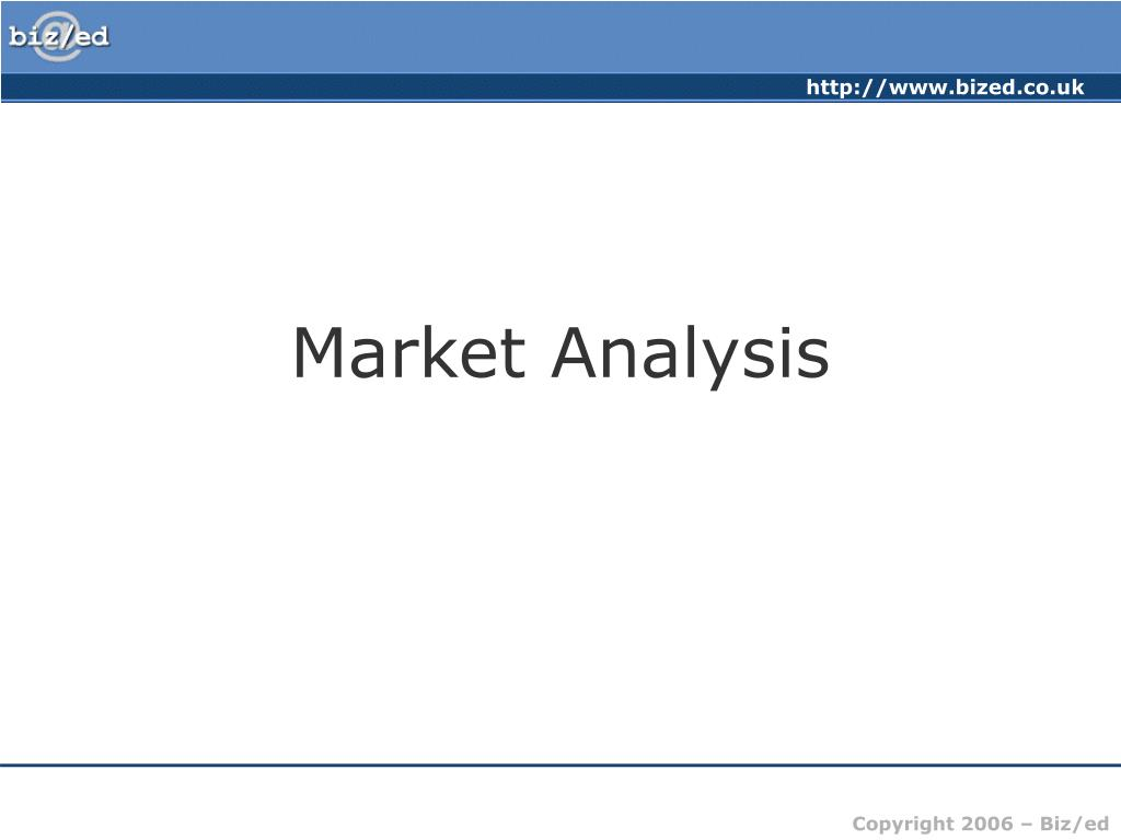 market analysis l.