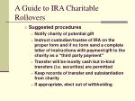 a guide to ira charitable rollovers7