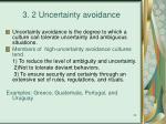 3 2 uncertainty avoidance