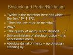 shylock and portia balthasar