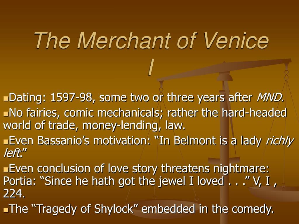 the merchant of venice i l.