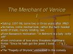 the merchant of venice i