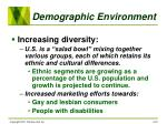 demographic environment24