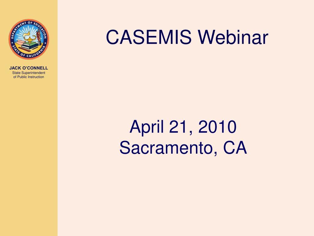 april 21 2010 sacramento ca l.