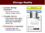 storage reality