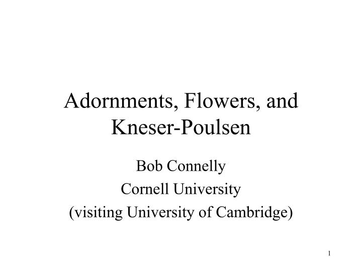 adornments flowers and kneser poulsen n.