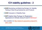 ich stability guidelines 2