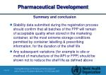 pharmaceutical development63