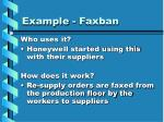 example faxban12