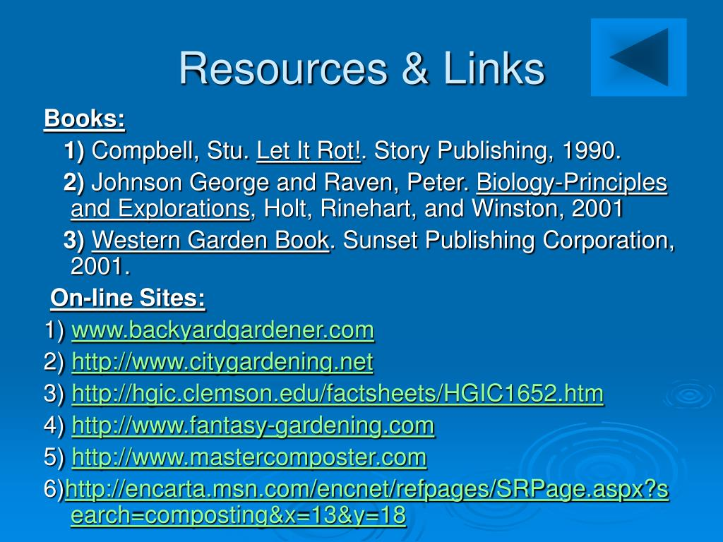 Resources & Links