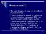 manager con t