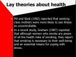 lay theories about health69