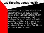 lay theories about health73