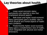lay theories about health74