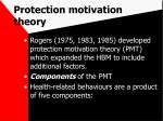 protection motivation theory39