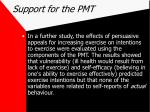 support for the pmt44