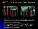bv tv graphs and conclusions