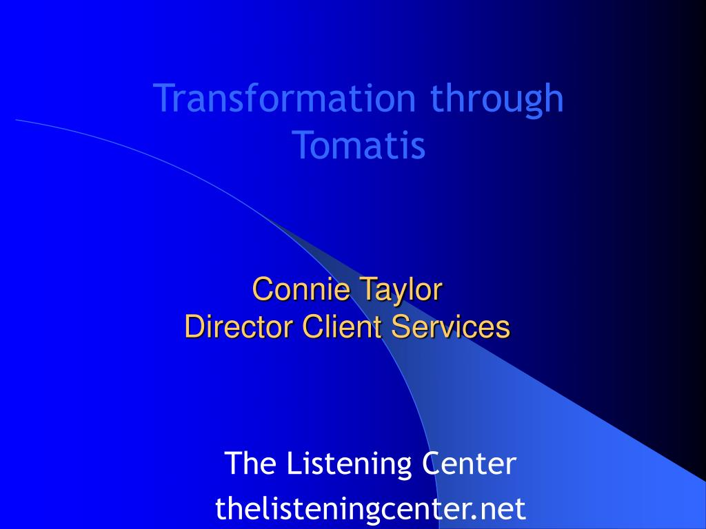 connie taylor director client services l.