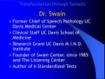 dr swain