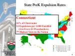 state prek expulsion rates
