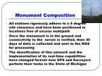 monument composition
